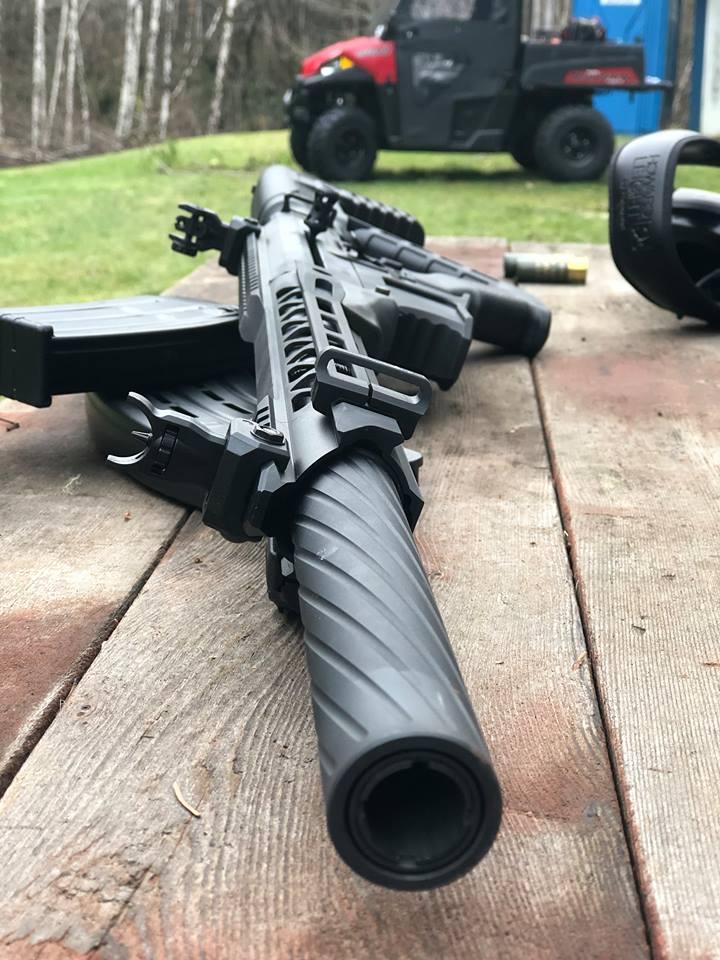 The VR80: A modern AR-Patterned Box-Fed Shotgun