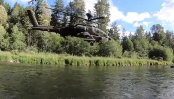 Watch: New footage shows the agility of America's Apache helicopters