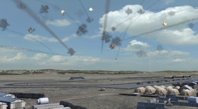 Watch: Raytheon shows how drone swarms and lasers will soon make warfare a sci-fi horror show