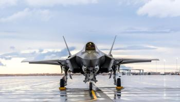 These are the constantly connected data networks the F-35 relies on in a fight