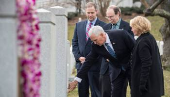 The Pic of the Day: Vice President Attends NASA Day of Remembrance