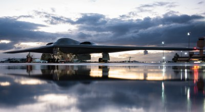 The Pic of the Day: A B-2 with a view