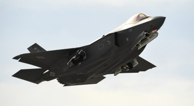 The Pic of the Day: F-35 takes off from Nellis Air Force Base