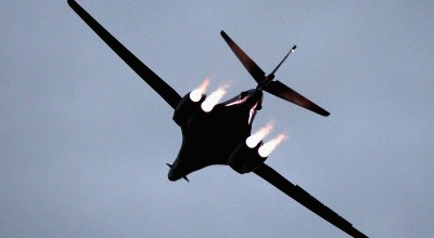 The B-1B Lancer may be slated for retirement, but it's still got a lot of fight left in it