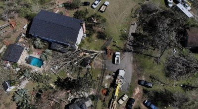 Rescuers deploy drones to search for survivors in the aftermath of deadly Alabama twisters