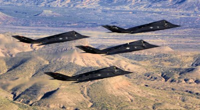 Breaking: Reports allege US deployed 4 'retired' F-117 Nighthawks to Syria in 2017