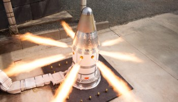The Pic of the Day: Hot-fire test of NASA's Orion spacecraft launch abort system