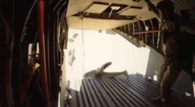 Special operations gone wrong: Watch this year's ugliest parachute jump