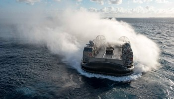 Driving the Landing Craft Air Cushion