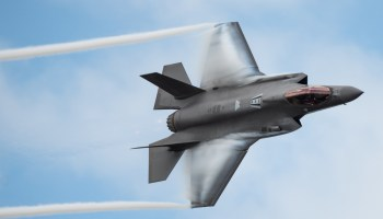 The Pic of the Day: F-35 Demonstration team puts on a show