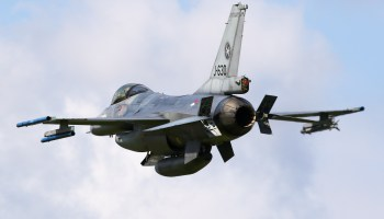 Dutch pilot makes emergency landing after shooting up his own F-16