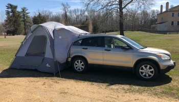 The new Napier Backroadz SUV Tent, Model 19100