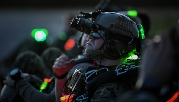 US Special Operations Command reveals new helmet for operators