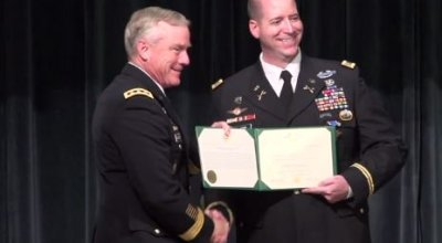 Army Green Beret Awarded Second Distinguished Service Cross