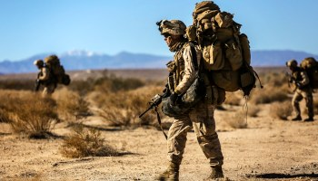 New study shows just 15 pounds of extra gear can hinder a Marine's ability to fight