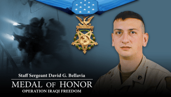 Watch: Amazing speech from Medal of Honor recipient Army Staff Sgt. David G. Bellavia