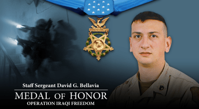 U.S. Army Staff Sgt. David G. Bellavia
