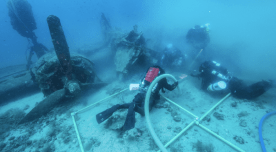 Gear in the Wild: Divers work to recover bodies of lost WWII bomber crew