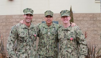Navy EOD operators honored for capturing underground ISIS headquarters