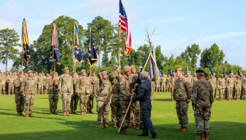 75th Ranger Regiment welcomes new boss