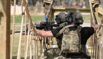A little action from the 2019 SOF International Sniper Competition
