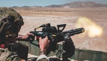 Special Forces operators rocking the minigun