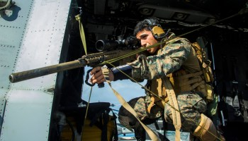 Marines perfect the art of sniping