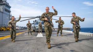 USS Boxer downs Iranian drone in Strait of Hormuz