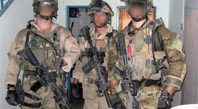 Delta Force operators during nighttime operations in Iraq. (Image courtesy of YouTube.com).