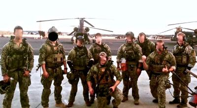 Navy SWCC operators after a training exercise. (Image courtesy of YouTube.com).