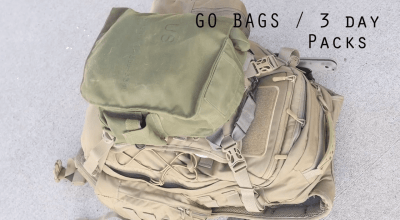 Watch: Basic setup for go-bags and 3 day assault packs