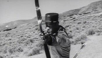 Classic Special Forces footage shows the deadly value of a bow and arrow in combat