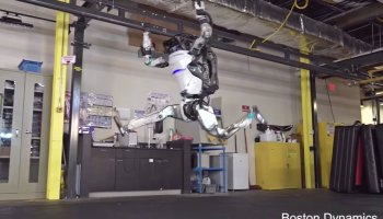 Watch: Boston Dynamics' robots are now better at moving around than most humans