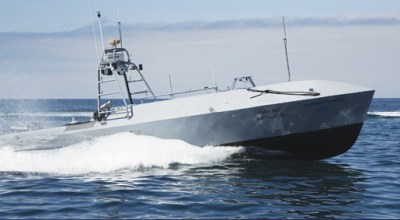 (Textron's Common Unmanned Surface Vehicle courtesy of Textron)