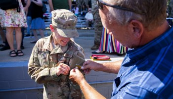 Female Airman earns Army Ranger Tab for the first time ever