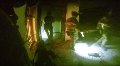 Delta Force operators during a nighttime operation against ISIS in Iraq. (Image courtesy of YouTube).