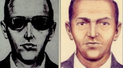 (FBI photo of D.B. Cooper)