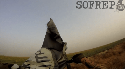 Combat Footage: Americans Fighting ISIS with the Peshmerga