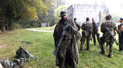 First Person Swiss Urban Combat Training (MOUT)