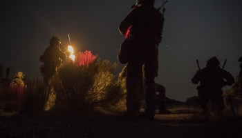 The Pic of the Day: Special Tactics Airmen owning the night