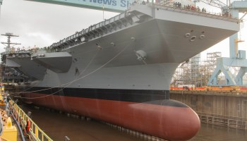 America launches its newest aircraft carrier days after China's new carrier hits their fleet