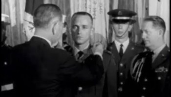 December 1964: Roger Donlon was awarded the first Medal of Honor for Vietnam War