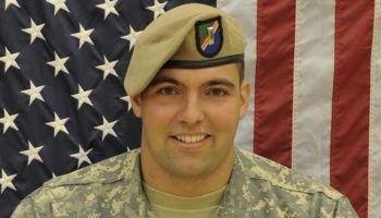 NFL player and former Ranger Alejandro Villanueva supporting Special Operations Warrior Foundation