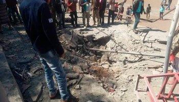 Iran-backed Houthi rebels blast Yemen parade, at least 10 dead