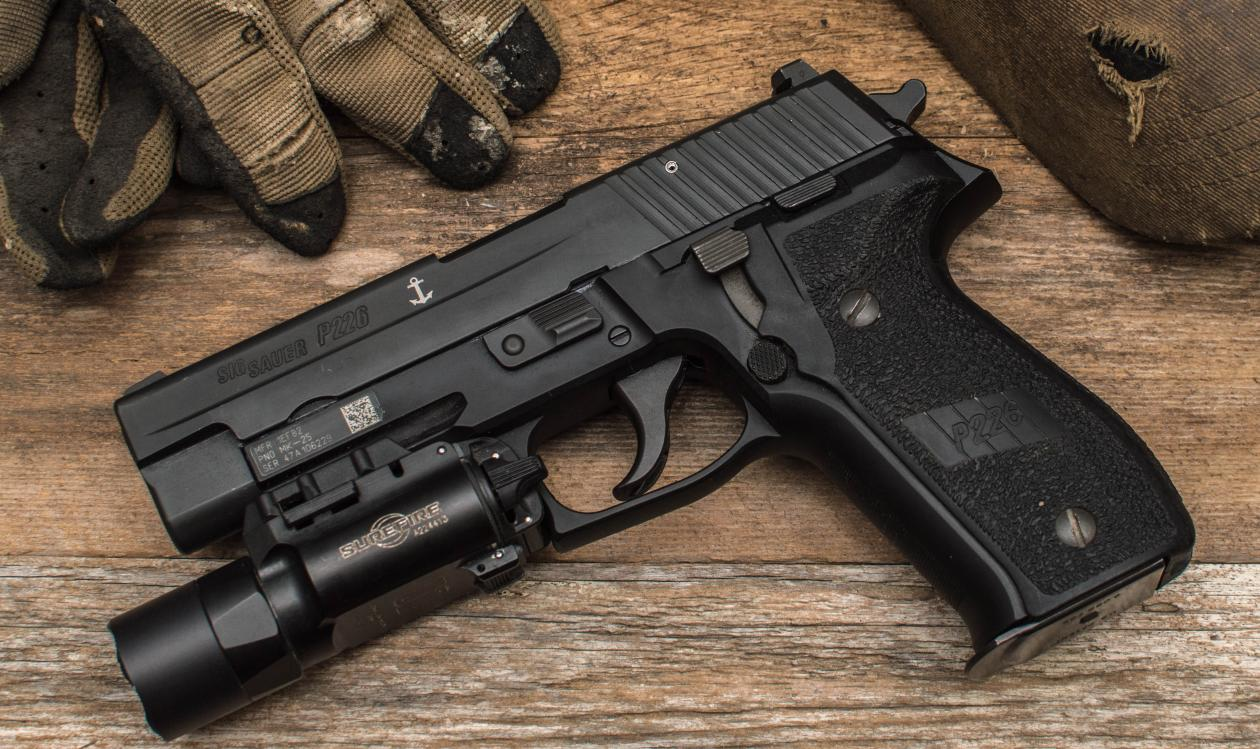 Compact And Lethal The Sig Sauer P228 A Staple Navy Seal