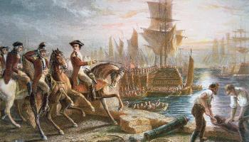 American revolutionaries begin the Siege of Boston