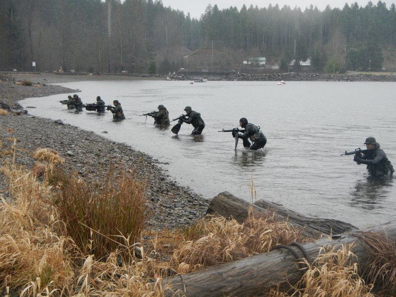 Waterborne Infiltration Course