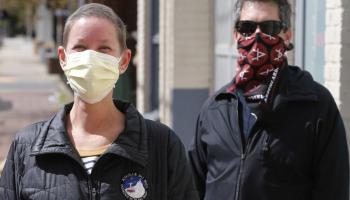 DIY Coronavirus masks, the Marine Corps way
