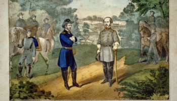 April 26, 1865, Gen. Joseph Johnston surrenders the Army of Tennessee