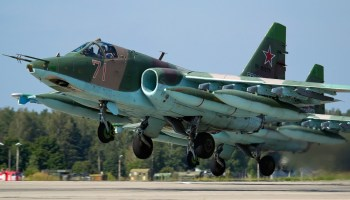 Su-25 accidentally fires missile while on ground, misses parked C-130, kills 5